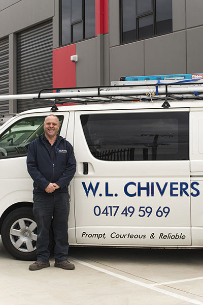 Company founder, Wayne Chivers